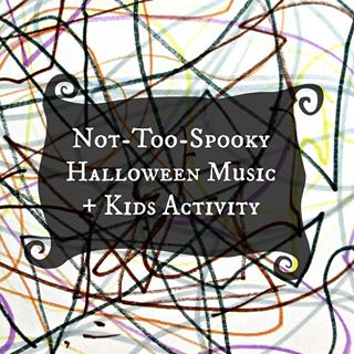 Looking for some spooky (but not-too-spooky) Halloween music for kids? Check out the new post on The Artful Parent for some good ones! Plus an activity for responding to the music creatively...